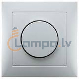 Berker Light Dimmer S 1 rotary dimmer with cover plate and