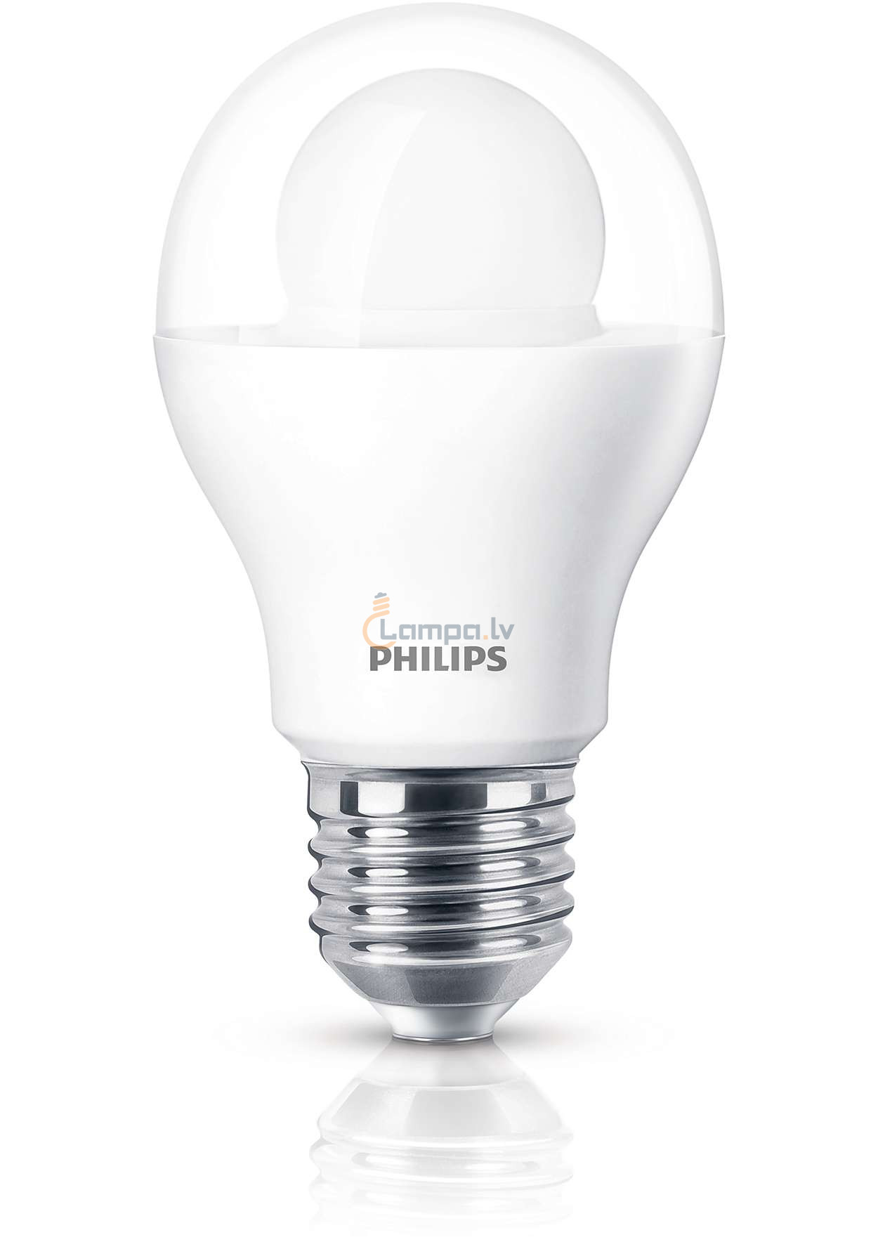 philips led lampe 8 32w 827 e27 2700k a60 230v ww clear not dimmable. Black Bedroom Furniture Sets. Home Design Ideas
