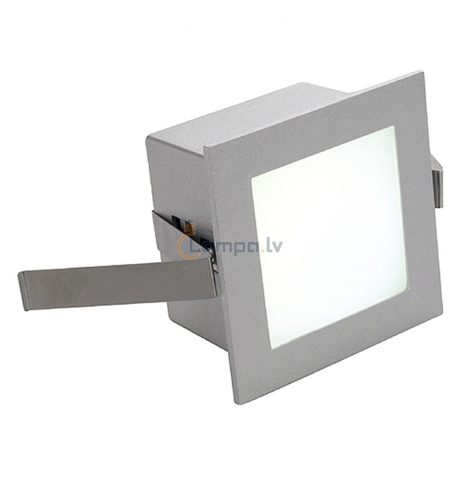 Lamp RecessedSquare Basic Slv Frame Led Decorative qUzMpGSV